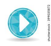 movie icon design  vector... | Shutterstock .eps vector #399035872