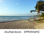 Picture Of A Resort Beach At...