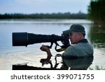 wildlife photographer outdoor ... | Shutterstock . vector #399071755