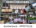 Columbia Road Flower Market In...