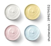 set of 4 different cosmetics... | Shutterstock . vector #399079552