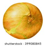 colored pencils image of yellow ... | Shutterstock . vector #399080845