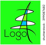 creative idea for mascot or...   Shutterstock .eps vector #399087682