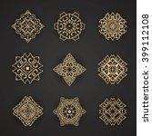 design elements graphic thai...   Shutterstock .eps vector #399112108