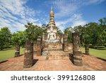 sukhothai historical park ... | Shutterstock . vector #399126808