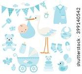 vector illustration for baby... | Shutterstock .eps vector #399140542