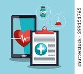 medical care design  | Shutterstock .eps vector #399151765