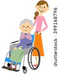 nursing care   Shutterstock . vector #399168796