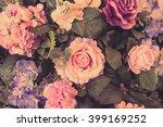 beautiful bouquet flower for... | Shutterstock . vector #399169252