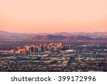 phoenix arizona with its... | Shutterstock . vector #399172996