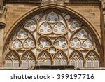 Window Of Medieval Gothic...