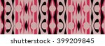 ethnic background pattern | Shutterstock . vector #399209845