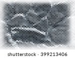 gray stone wall background | Shutterstock . vector #399213406