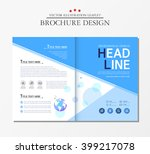 business brochure  earth. | Shutterstock .eps vector #399217078