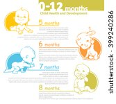 set of child health and... | Shutterstock .eps vector #399240286