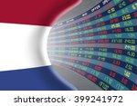 national flag of netherlands... | Shutterstock . vector #399241972