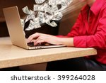 financial concept. make money...   Shutterstock . vector #399264028