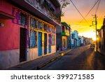 camaguey  cuba   the warm... | Shutterstock . vector #399271585
