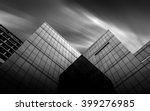 Black And White Urban Geometry  ...