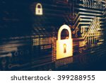 digital security concept | Shutterstock . vector #399288955