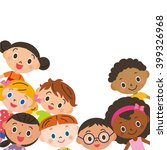 child meeting | Shutterstock .eps vector #399326968