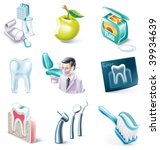 vector cartoon style icon set....