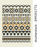 ethnic pattern elements... | Shutterstock .eps vector #399351772