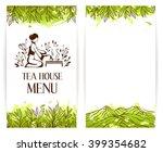 japanese green tea ceremony... | Shutterstock .eps vector #399354682