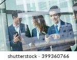 group of business people... | Shutterstock . vector #399360766