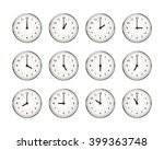 set of clocks icons for every... | Shutterstock . vector #399363748