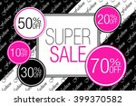 sale. black friday. | Shutterstock .eps vector #399370582