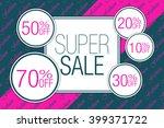 sale. | Shutterstock .eps vector #399371722