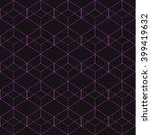 vector seamless pattern. modern ... | Shutterstock .eps vector #399419632