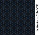 vector seamless pattern. modern ... | Shutterstock .eps vector #399424792