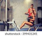 sport  fitness  teamwork and... | Shutterstock . vector #399431245