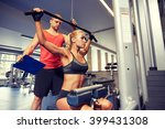 sport  fitness  teamwork and... | Shutterstock . vector #399431308