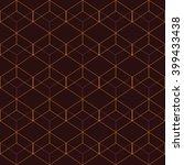 vector seamless pattern. modern ... | Shutterstock .eps vector #399433438