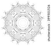 mandala architecture | Shutterstock . vector #399501526
