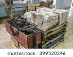 drug warehouse this scene was... | Shutterstock . vector #399520246