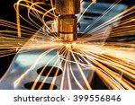 spot welding industrial... | Shutterstock . vector #399556846