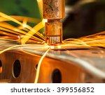 industrial welding automotive... | Shutterstock . vector #399556852