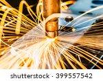 spot welding industrial... | Shutterstock . vector #399557542