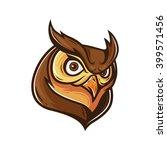 owl mascot logo  character... | Shutterstock .eps vector #399571456
