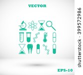 science icon | Shutterstock .eps vector #399572986