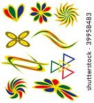 the collection of symbols for... | Shutterstock .eps vector #39958483