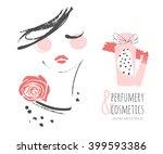Perfumery And Cosmetics. Make...