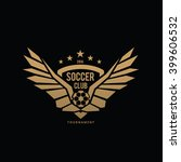 soccer club logo football logo... | Shutterstock .eps vector #399606532