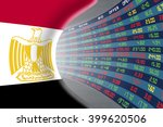 national flag of egypt with a... | Shutterstock . vector #399620506