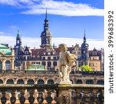 beautiful baroque dresden  ...   Shutterstock . vector #399683392