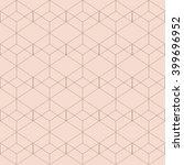 vector seamless pattern. modern ... | Shutterstock .eps vector #399696952